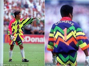 mẫu áo thủ môn